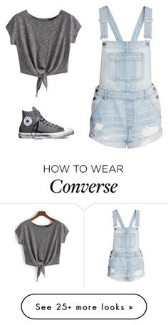 """Simple"" by marvelsweety1234 on Polyvore featuring Converse"