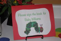 hungry caterpillar baby shower | The Very Hungry Caterpillar Baby Shower