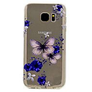 For+Samsung+Galaxy+S8+Plus+S7+Butterfly+Pattern+Soft+TPU+Material+Phone+Case+for+S6+S8+–+AUD+$+5.71