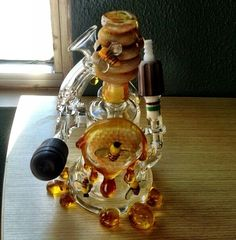 Oil rig. Honeycomb!