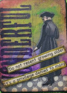 MollyFitzDesigns: Altered Playing Card ATC
