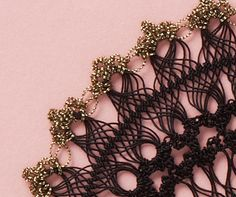 hairpin lace crochet.  Does the pdf link to a diagram? Have to check it.