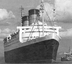 Queen Elizabeth @ LostLiners – Honoring the Golden Age of Ocean Travel