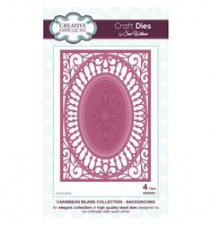 Craft Dies by Sue Wilson - Caribbean Island Collection - Background CED5201