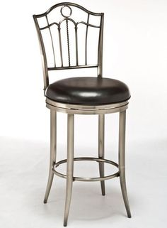 "Hillsdale Furniture 5174-831 30"" Portland Swivel Bar Stool"