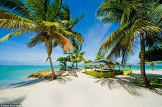 TOBAGO Rapid growth in Caribbean tourism has been kind to Tobago, which gained independence from Britain in 1962. Pictured is the stunning Pigeon Point beach