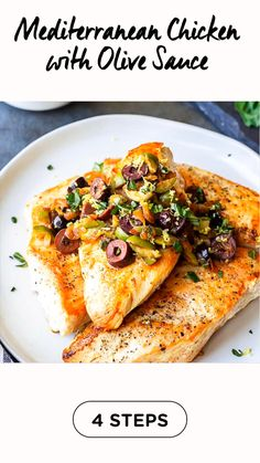 Low Carb Chicken Recipes, Baked Salmon Recipes, Healthy Low Carb Recipes, Low Carb Dinner Recipes, Keto Recipes, Whole 30 Chicken Recipes, Healthy Baked Chicken, Healthy Cooking, Easy Mediterranean Diet Recipes