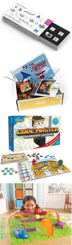 Best coding toys and programming games for kids iPads in Education Scoop. Programming Games For Kids, Introduction To Programming, Teaching Kids To Code, Best Christmas Toys, Computational Thinking, Best Baby Toys, Coding For Kids, Simple Website, Special Kids