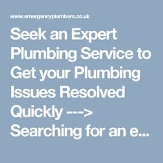 Seek an Expert Plumbing Service to Get your Plumbing Issues Resolved Quickly --->  Searching for an emergency plumber in #Wembley for faulty boiler? Emergency #Plumbers can help you instantly. Call 07796 345 453 for #plumbing solutions.