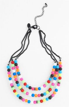 Spring Street Multistrand Necklace    $36.00