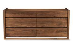 Matera Six-Drawer Dresser