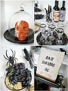 Pin for Later: How to Style a Halloween Cheese and Wine Party