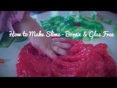 How to Make Slime – Borax & Glue Free