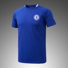 2017 Cheap Training Jersey Chelsea FC Replica Blue Shirt [AFC590]