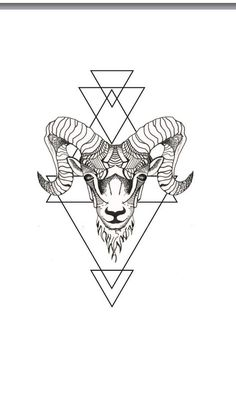 Image result for geometric capricorn
