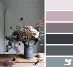 design seeds | still life hues | for all who ♥ color