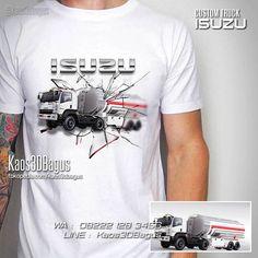 Kaos TRUCK ISUZU, Kaos 3D, Isuzu GVR, Big Truck, WA : 08222 128 3456, LINE : Kaos3DBagus, https://kaos3dbagus.wordpress.com/2017/10/23/kaos-truck-hino-volvo-isuzu-kaos-truck-trailer-kaos-3d/