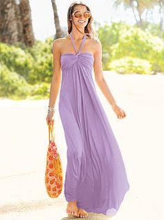VS Lilac Maxi Dress