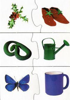 الصورة: Color Games, Toddler Activities, Special Education, Montessori, Planter Pots, Album, Puzzle, Disability, Maths