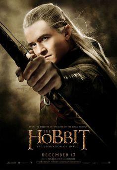 NUEGO PÓSTER de Legolas para ' El Hobbit: Ladesolación de Smaug'