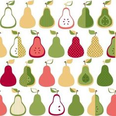 York Wallcoverings, 56 sq. ft. Kitchen Pears Wallpaper, KB8660 at The Home Depot - Mobile