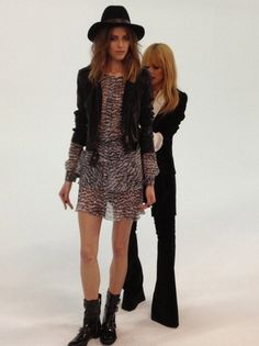 Behind the scenes, Pre-Fall 2013