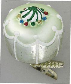 Inge Glas 2007 #Christbaumschmuck#aus dem Hause Inge Glas.Weihnachtsbaumschmuck made in Germany mundgeblasen und von Hand bemalt bei www.gartenschaetz...