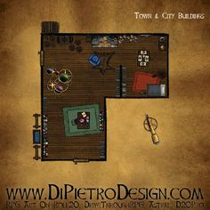 Dungeons By Dan - RPG Artwork for VTT and tabletop games Rpg Map, Dungeon Tiles, D 20, Fantasy Rpg, Tabletop Games, Games To Play, How To Draw Hands, Creative, Artwork