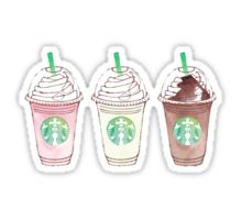 Starbucks stickers featuring millions of original designs created by independent artists. Decorate your laptops, water bottles, notebooks and windows. Stickers Cool, Preppy Stickers, Tumblr Stickers, Laptop Stickers, Kawaii Stickers, Sticker Printable, 3d Cuts, Starbucks Art, Starbucks Drinks