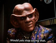 Star Trek Gifs *Quark* played by Armin Shimerman