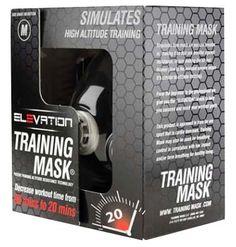 Elevation Training Mask 2.0 Mascara Elevacion Mma Crossfit - $ 990.00 en MercadoLibre