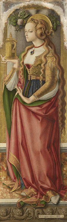 Maria Magdalena ~ Carlo Crivelli ~1480