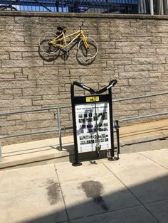 Bicycle Repair Station on campus near Blazer