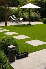 Afbeeldingsresultaat voor grote moderne tuin