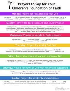 Want to build your child's foundation of faith? Start with prayer.