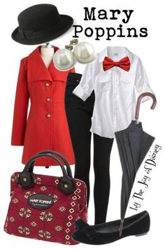 Outfit inspired by Mary Poppins!