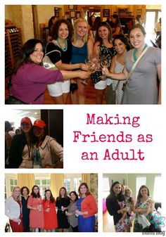 Advice for how to make good friendships as an adult.