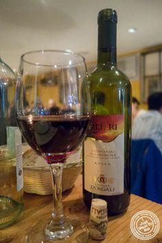 """image of Cannonau di Sardegna 2011 """"Filieri"""" - Cantina Dorgali at Da Marcella Taverna in Greenwich Village, NYC, New York"""