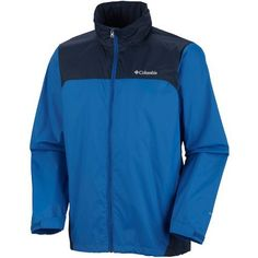 Columbia Sportswear Men's Glennaker Lake Big & Tall Rain Jacket (Blue, Size ) - Men's Outerwear, Men's Rainwear at Academy Sports