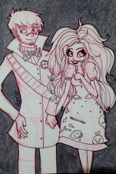 Paige and Tony by Nuit by NuitXocolatl.deviantart.com on @DeviantArt