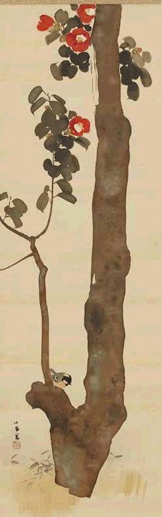 Sarah Pinyan posted NAOKO TAKEUCHI to her -nice signs- postboard via the Juxtapost bookmarklet. Art Chinois, Art Japonais, Guache, Japanese Painting, Japanese Prints, Japan Art, Ink Painting, Ikebana, Chinese Art