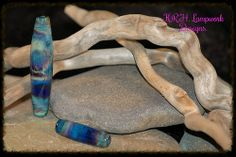 K.R.H. Lampwork Designs ~ Brad's Striking Color Glass Beads.