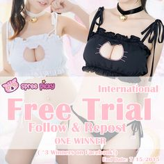 Join +SpreePicky NEW #Sexy + #Neko     #Freetrial    Click here to join :  http://goo.gl/1i2VUX http://goo.gl/1i2VUX  Order these lovely ?  Link here for item details: http://goo.gl/70Ihtu  #spreepicky #spreepickyfreetrial #freetrial #spsexynekofreetrial #spreepickysexynekosetfreetrial #sexynekoset #nekotop #top #neko