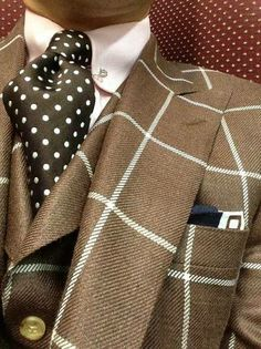 As jacket & vest, a bit out there but Ok for a Dandy style. Style Gentleman, Gentleman Mode, Mode Masculine, Sharp Dressed Man, Well Dressed Men, Fashion Moda, Look Fashion, Fashion Styles, Mens Fashion Suits