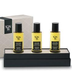 Luxuriöse Geschenkidee für Sie - YonKa Set mit 3 edlen Körperölen. #körperöl #geschenkidee #yonka