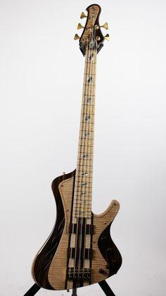 ESP Stream Original Series Custom Shop NAMM 2014 Exhibition Bass Guitar   6-String.com