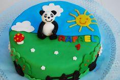 bolo aniversario panda Bolos decorados do Panda