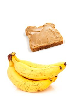 Yonanas Banana and Peanut Butter Graham Cracker Sandwich  Ingredients:  2 frozen bananas, 2 tabelspoons peanut butter and graham crackers.    Directions:  Stir the peanut butter into the bananas; spread onto graham crackers and freeze.  Perfect ice-cream sandwiches