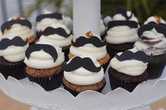 {Happy Birthday Little Man} :: Mustache Cupcakes
