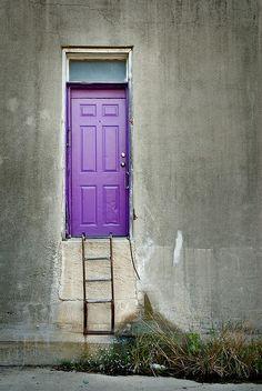 Purple Door II by engjoneer, via Flickr